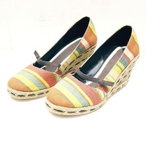 NEW Dexter Free Love Strip Wedge Shoes - Size 9